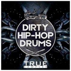 Dirty Hip Hop Drums WAV-DiSCOVER, wav samples-audio, WAV, Hip Hop Drums, Hip Hop, Drums, DISCOVER, Dirty