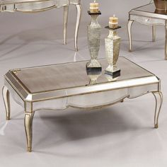Collette Rectangle Cocktail Table