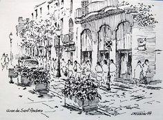 Carrer Gran de Sant Andreu, Bar Versalles (Barcelona). Joaquim Francés