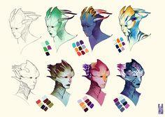 Commision: Orid concept 01 by Zarnala on deviantART