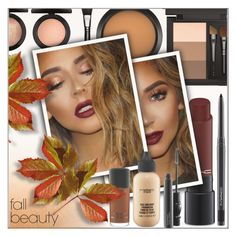 """The Best in Fall Beauty"" by shoaleh-nia ❤ liked on Polyvore featuring beauty and MAC Cosmetics"