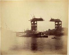 London Tower Bridge Construction
