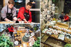 Architekci wnętrz - spotkanie w salonie WirchomskiShowroom Wirchomski - spotkanie architecture meeting motivation inspiration furniture design interior  amazing food masterchef foodie