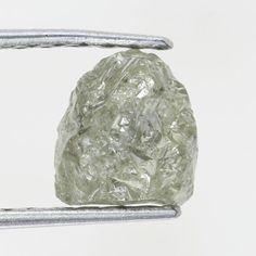 0.96 Ct Natural Rough Diamond Lemon Color Amazing Diamond