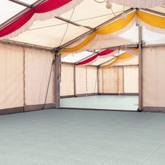 Polypropylene plastic is a great choice for portable outdoor flooring, as it can stand up to any kind of climate. These temporary outdoor flooring options have small holes in the surface to allow rainwater to drain through to the ground. These holes do not affect the integrity or strength.  The base is slightly raised off the ground. This allows air to flow underneath, making the overall area safer for people to walk on in poor weather.
