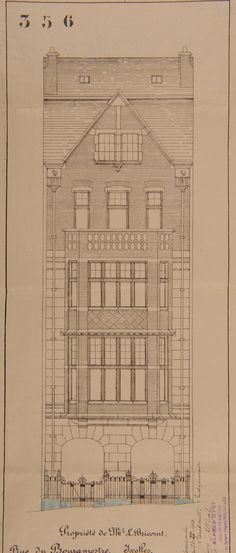Ixelles - Avenue Géo Bernier 15 - NYST Alfred