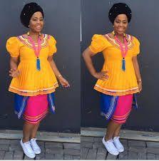 Pedi Traditional Attire, Sepedi Traditional Dresses, African Fashion Traditional, African Traditional Wedding Dress, Traditional Wedding Attire, African Wedding Attire, African Attire, African Wear Dresses, African Print Fashion