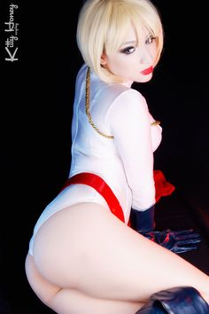 Power Girl!! by Kitty-Honey - More at https://pinterest.com/supergirlsart #powergirl #dc #cosplay #girl