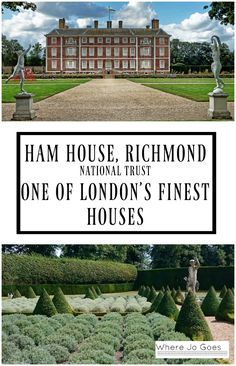 Ham House, Richmond, London National Trust London finest houses Stately homes London Historic London Days out London Days out with children London England UK Great Britain Ham House London Charles I Days Out With Kids, Family Days Out, England Uk, London England, London Charles, Richmond London, London Places, Things To Do In London, Beautiful Places To Travel