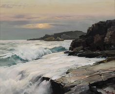Painting by Frederick Judd Waugh