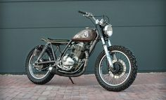 Dan's GN400 - the Bike Shed - Suzuki - Skate - BMX - Brat