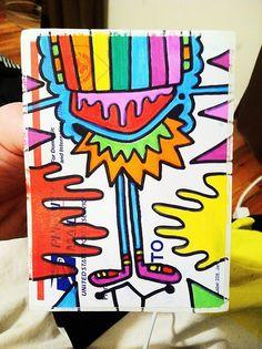 KING OF COLOR - New York City artist, TY - #cloudzbyTY - #StreetArt #StreetArtStickers #StickerPorn #StickerSwap #StickerDesign #StickerArt