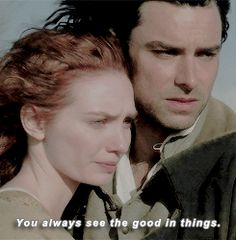 """""""You always see the good in things"""" - Ross and Demelza #Poldark"""