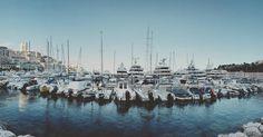 #PortHercule Porto di Montecarlo, senza #memories #instamood #mindtravel #mindtraveller #instalike #boat #boats #montecarlo #monaco #estate #sea #senza #goodafternoon #goodvibes by _gioeleancora from #Montecarlo #Monaco