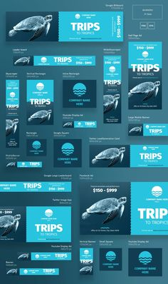 Mega Bundle | Travel - Templates