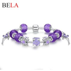 Pandora Bracelet Pulseira with Purple Beads Snake Chain Bracelet  Only $3.66 => Save up to 60% and Free Shipping => Order Now!  #Earrings #Rings #Handmade #Silver Jewelry #Pandora Bracelets #Nature Stone Jewelry #Jewelry #Necklaces #Bracelets  http://www.onedollarlive.com/product/pandora-bracelet-pulseira-with-purple-beads-snake-chain-bracelet/