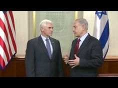 PM Netanyahu Meets Indiana Governor Mike Pence – Israel Video Network Israel Video, Important News, Mike Pence, Meet