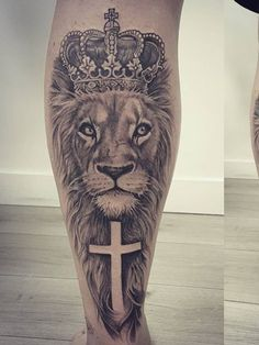 Tattoo Font For Men, Leg Tattoo Men, Leg Tattoos, Body Art Tattoos, Tattoos For Guys, Tattos, Superman Tattoos, Lion Tattoo Sleeves, Schulter Tattoo