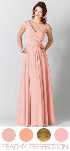 8bd85f654d 200 Best Peach Bridesmaids Dresses images