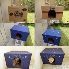 Cardboard Cathouse