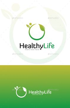 Natural Health & Nutrition - Logo Design Template Vector #logotype Download it here: http://graphicriver.net/item/natural-health-nutrition/11026591?s_rank=1627?ref=nexion