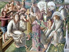 The Resurrection - Tidying, Sir Stanley Spencer, 1945 by Birmingham Museum and Art Gallery