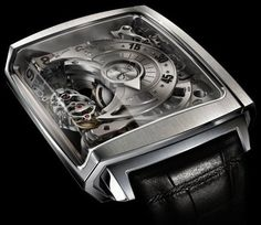 Hautlence HL2 locomotive-like these unusual watches use a 12 chain movement