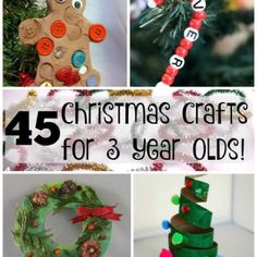 Christmas crafts for kids!!