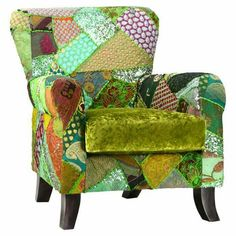 Can't afford the chair but I could crazy quilt a slip cover.  Pic from https://www.jossandmain.com/