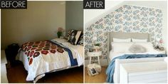 We love this smart bedroom makeover!