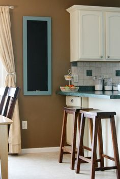 Love the craft AND the wall paint color