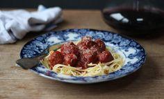 Mini Pork, Fennel, and Parmesan Meatballs