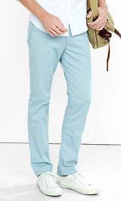light blue hayden skinny chino