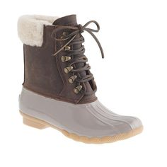 95f9e97eb Women s Sperry Top-Sider® for J.Crew Shearwater boots