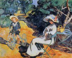 Louis  VALTAT, L'Enfant au tricycle
