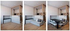 «Рай в шалаше»: просторная квартира на 25 метров - Home and Garden