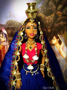 Gopi Doll - OOAK Doll - Altered barbie doll - Kunda Lila