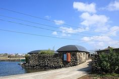 The Blind Whale house in Jeju-do by Z Lab
