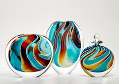 Peter Layton glass artworks
