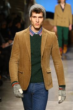 Collegiate cool with an updated corduroy blazer. Skip vintage and go for a modern fit. This brings us back plenty.   - Esquire.com