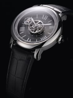 Cartier Astrotourbillon Carbon Crystal - The watch born from Cartier ID One