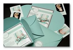 Love the petal envelopes and the overall presentation - it's a referral program kit