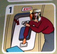 """You'll definitely want me on your plane. """"In which I am the best exit row passenger ever."""""""