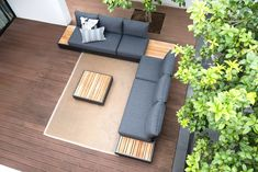 Cubo Lounge Outdoor Sectional, Sectional Sofa, Outdoor Furniture, Outdoor Decor, Floor Chair, Flooring, Home Decor, Lounges, Dark Grey
