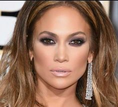 Jlo golden globes 2015 smokey eye