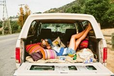 Bohemian van summertime fun.