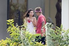 Noting Valentine's Day in Beverly hills, 25-year-old Selena Gomez and 23-year-old Justin Bieber, who recently almost never part, a few days later were together in Jamaica.