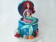 ariel little mermaid cake ann reardon