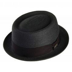 Bailey Hats Waits Pork Pie - Black