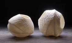 Sandra Byers, carved porcelain